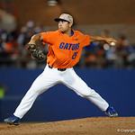 University of Florida Gators pitcher Nick Horvath as the Gators fall 4-2 to the South Carolina Gamecocks at McKethan Stadium. April 21st, 2017. Gator Country photo by David Bowie.
