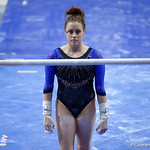 University of Florida Gators gymnast Grace McLaughlin performing on the vault as the Gators defeat the University of Georgia Bulldogs at the Stephen C. O'Connell Center.  February 10th, 2016. Gator Country photo by David Bowie.