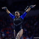 University of Florida Gators gymnast Alicia Boren performing on the beam as the Gators defeat the University of Georgia Bulldogs at the Stephen C. O'Connell Center.  February 10th, 2016. Gator Country photo by David Bowie.