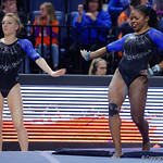 University of Florida Gators gymnast Alicia Boren performing her floor routine as the Gators defeat the University of Georgia Bulldogs at the Stephen C. O'Connell Center.  February 10th, 2016. Gator Country photo by David Bowie.