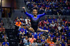 Florida Gators gymnist Trinity Thomas performs her floor routine as the #2 Gators faced #4 Denver and #18 Iowa State at the Stephen C. O'Connell Center in Gainesville, Florida on February 7th, 2020 (Photo by David Bowie/Gatorcountry)