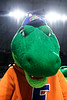 Albert the Gator as the #2 Florida Gators gymnastics team faced #4 Denver and #18 Iowa State at the Stephen C. O'Connell Center in Gainesville, Florida on February 7th, 2020 (Photo by David Bowie/Gatorcountry)
