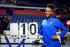 Florida Gators gymnist Trinity Thomas as the #2 Gators faced #4 Denver and #18 Iowa State at the Stephen C. O'Connell Center in Gainesville, Florida on February 7th, 2020 (Photo by David Bowie/Gatorcountry)