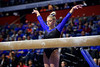 Florida Gators gymnist Alyssa Baumann as the #2 Gators faced #4 Denver and #18 Iowa State at the Stephen C. O'Connell Center in Gainesville, Florida on February 7th, 2020 (Photo by David Bowie/Gatorcountry)