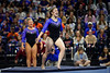 Florida Gators gymnist Payton Richards performs her floor routine as the #2 Gators faced #4 Denver and #18 Iowa State at the Stephen C. O'Connell Center in Gainesville, Florida on February 7th, 2020 (Photo by David Bowie/Gatorcountry)