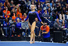 Florida Gators gymnist Rachel Gowey performs her floor routine as the #2 Gators faced #4 Denver and #18 Iowa State at the Stephen C. O'Connell Center in Gainesville, Florida on February 7th, 2020 (Photo by David Bowie/Gatorcountry)