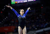 Florida Gators gymnist Leah Clapper as the #2 Gators faced #4 Denver and #18 Iowa State at the Stephen C. O'Connell Center in Gainesville, Florida on February 7th, 2020 (Photo by David Bowie/Gatorcountry)