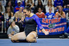 Florida Gators gymnist Amelia Hundley performs her floor routine as the #2 Gators faced #4 Denver and #18 Iowa State at the Stephen C. O'Connell Center in Gainesville, Florida on February 7th, 2020 (Photo by David Bowie/Gatorcountry)