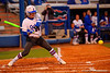 Florida Gators outfielder Bailey Castro swings at a pitch in the first inning.  Florida Gators vs NC State Wolfpack.  February 13th, 2015. Gator Country photo by David Bowie.