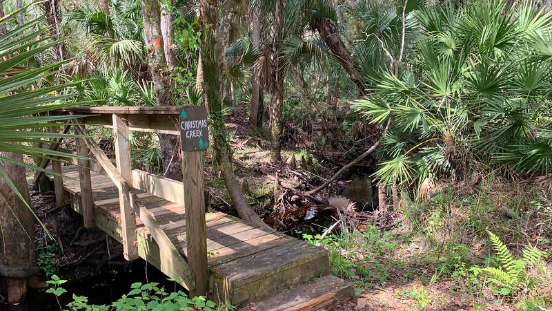 Bridge across Christmas Creek