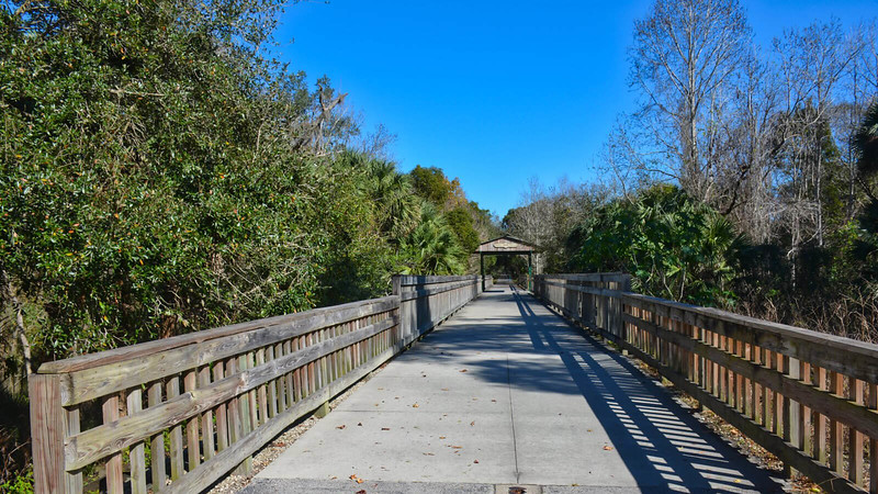Trestle style bridge