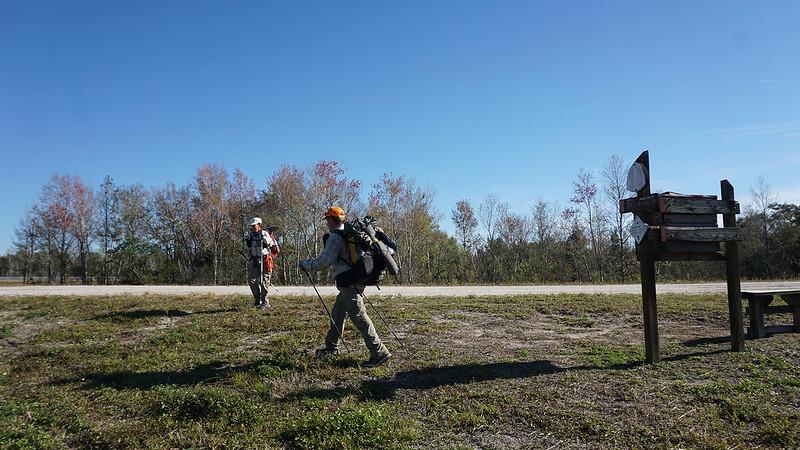 Thru hikers at US 192