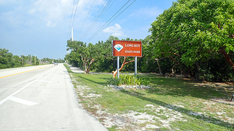 Sign for Long Key State Park