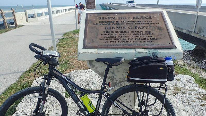 Seven Mile Bridge monument