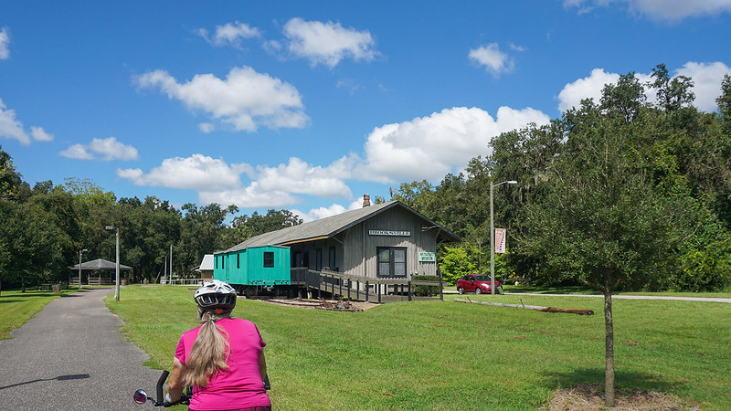 Brooksville historic depot