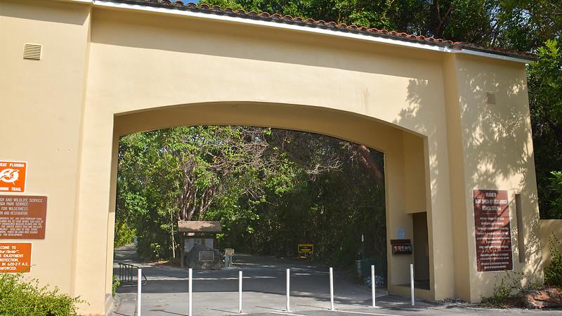 Archway at trailhead