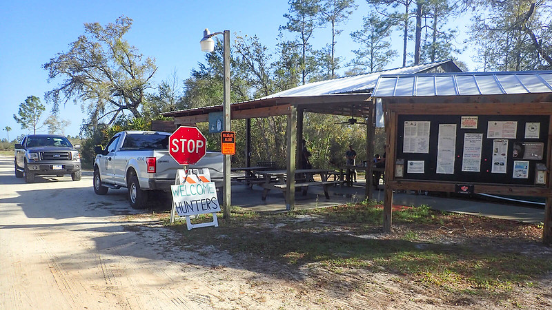 Hunt check station