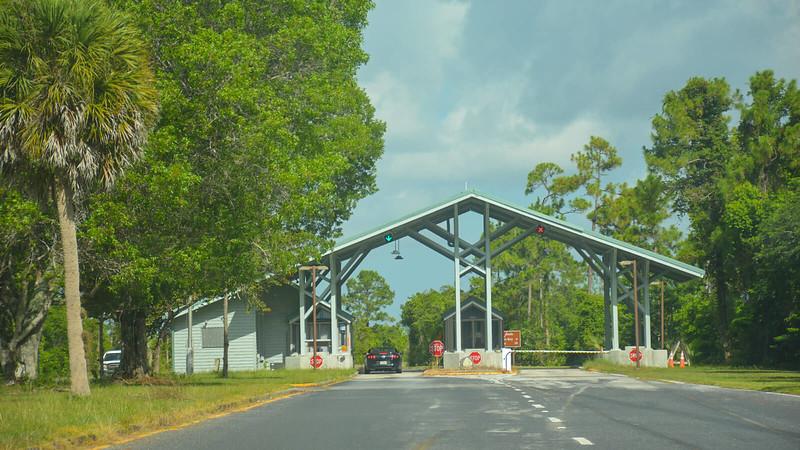 Everglades entrance station