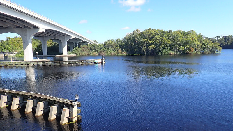 St Johns River and bridge