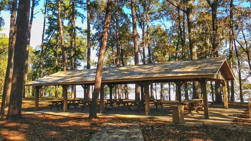 Picnic pavilion at Lake