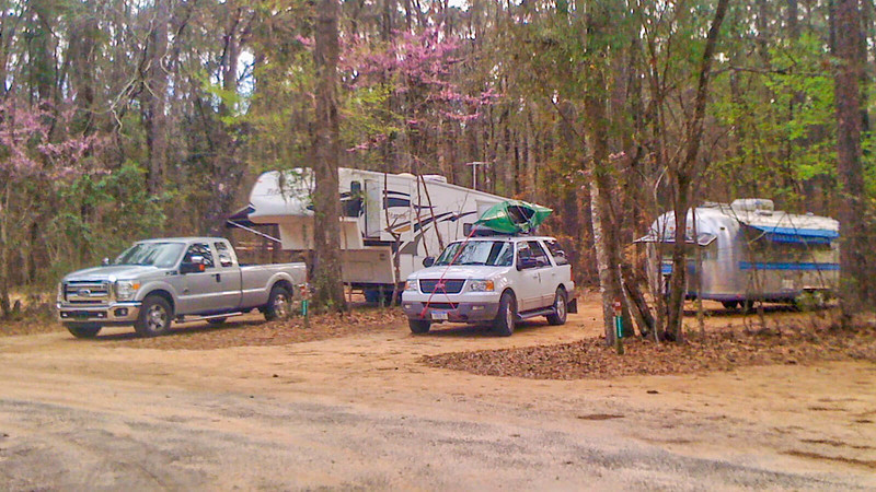 Campground at Three Rivers