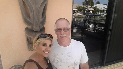 Debbie and Tom in th Keys May 2016