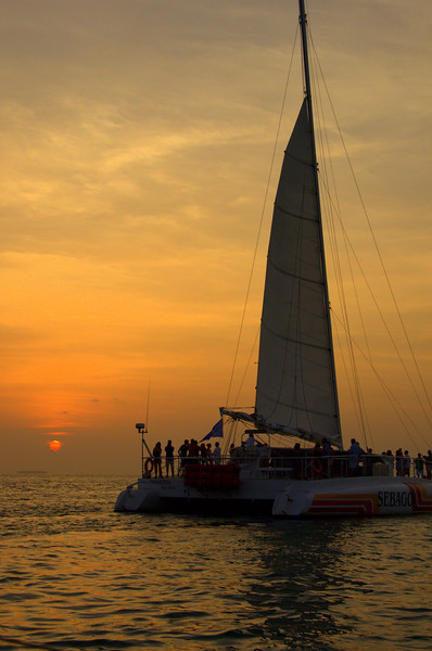Key West Sunset during Conch Republic Celebration