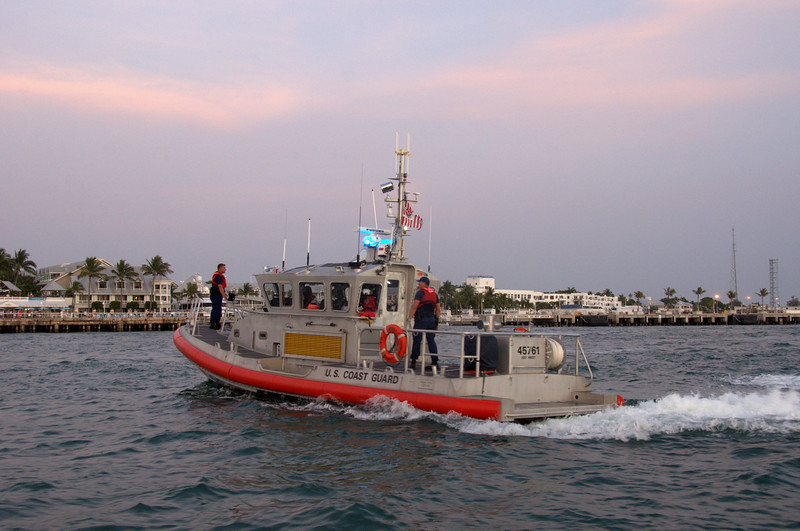 Conch Republic Celebration with U.S. Coast Guard defending the mother country