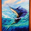 Guy Harvey art is everywhere in rooms