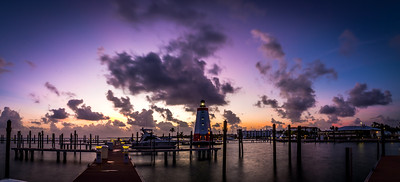 Pano Sunrise @ Faro Blanco Marina