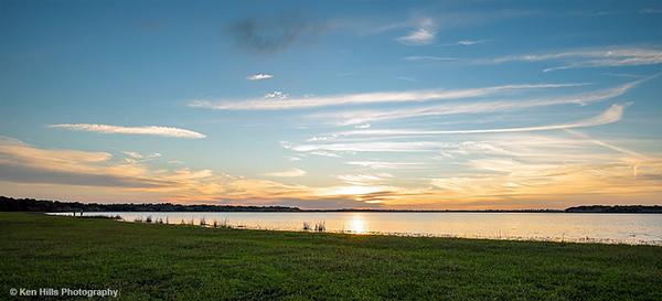 Sunset. Myakka River State Park.