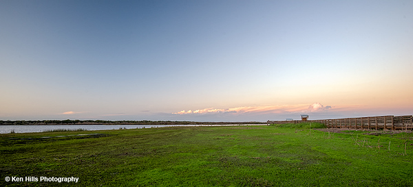 Birdwalk view.  Myakka River State Park.