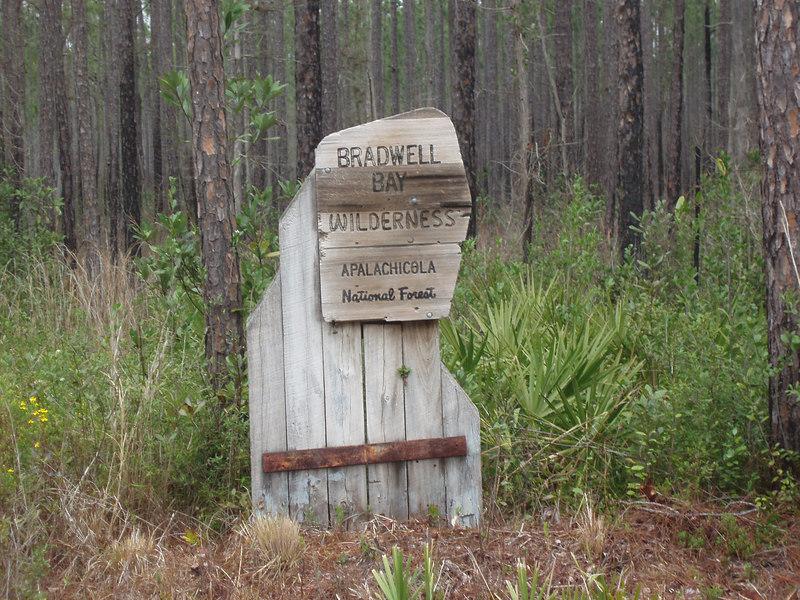 Entrance to Bradwell Bay  <br /> PHOTO CREDIT: Bob Coveney / Florida Trail Association