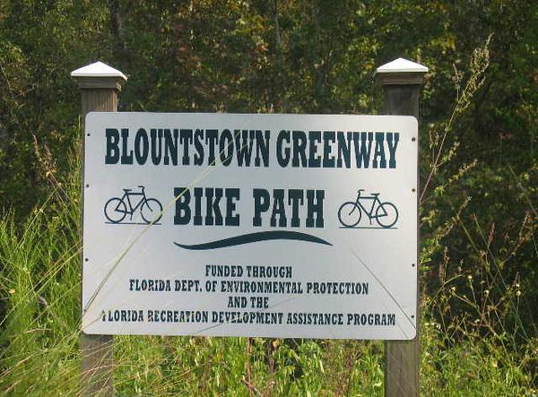 Blountstown Bike Path (Howard Pardue)