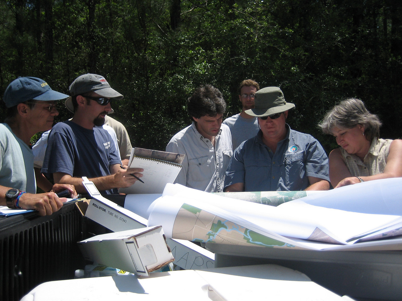 Planning the route of the Florida Trail through Nokuse