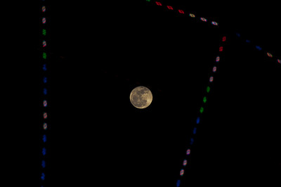 The Moon through a Ferris Wheel, Orlando