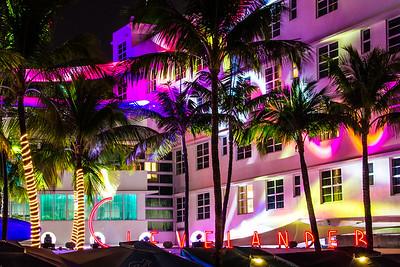 Clevelander Hotel, Miami, Florida