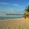 Smathers Beach on Key West Florida.