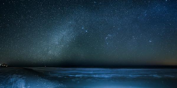Stars over Cape San Blas