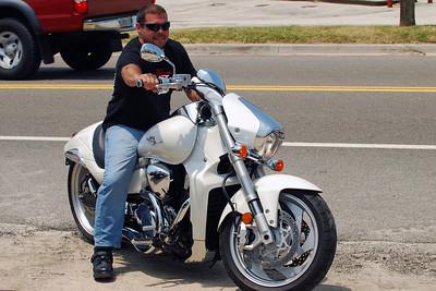 030 Motorcycle at Flagler Beach