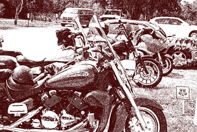 015 Motorcycles at Bull Creek Flagler County Florida