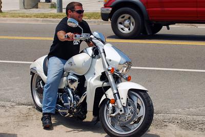 029 Motorcycle at Flagler Beach