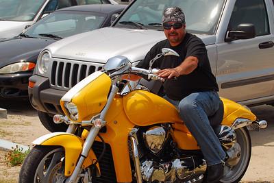 026 Motorcycle at Flagler Beach