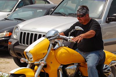 027 Motorcycle at Flagler Beach