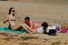 03 Bikini girls sunbathing on Flagler Beach