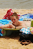 206 topless sunbather
