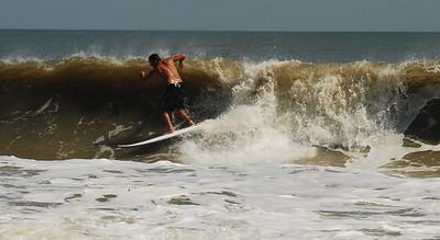 04 Surfer at Flagler Beach