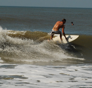 09 Surfer at Flagler Beach