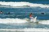 01 Surfer on Flagler Beach Florida