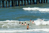 05 Kids playing in the surf at Flagler Beach Florida